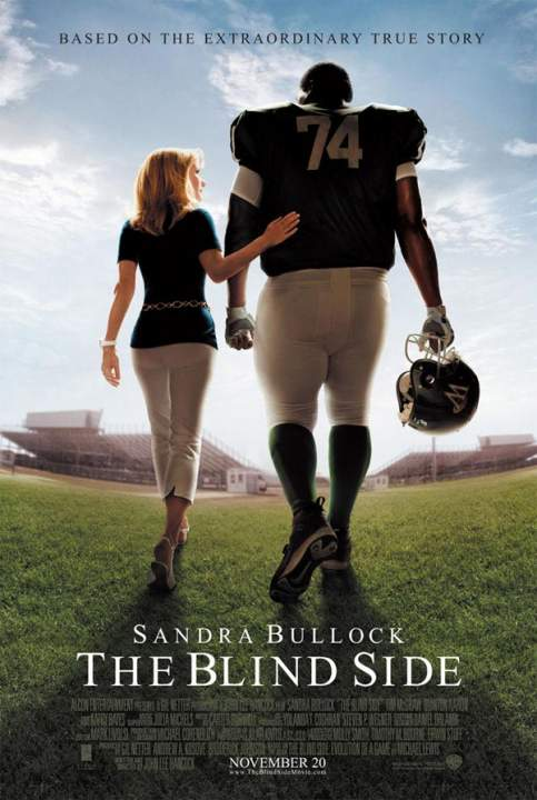 the blind side poster